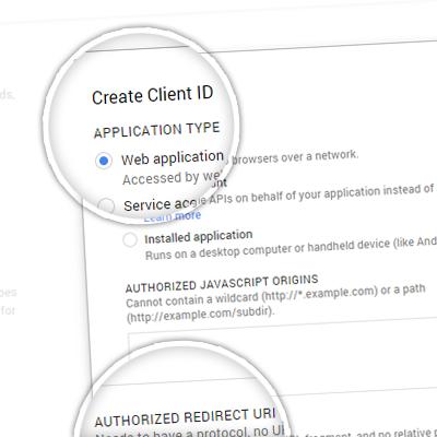 4. OAuth configure